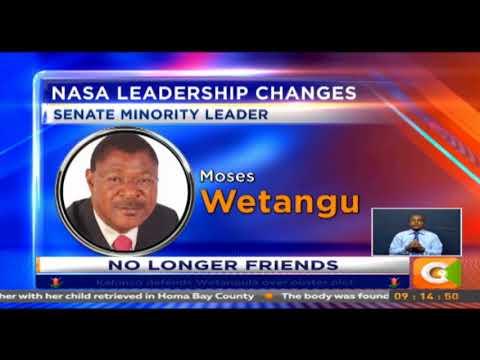NASA senators meet to elect new minority leader