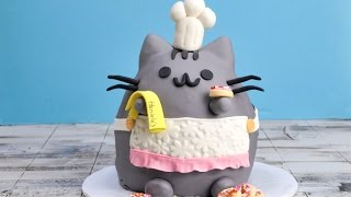 PUSHEEN CAT CAKE, HANIELA