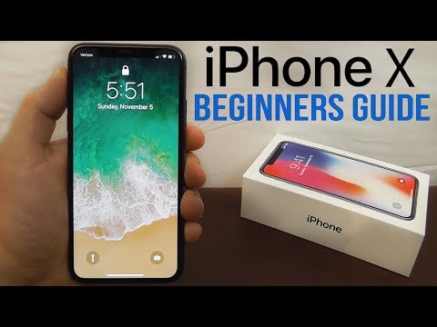 iPhone X  Complete Beginners Guide