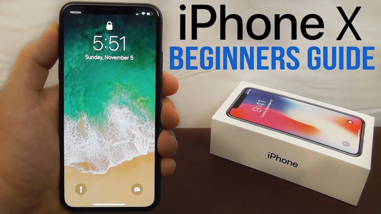 iphone x complete beginners guide youtube. Black Bedroom Furniture Sets. Home Design Ideas