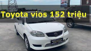 🛑[trực tiếp] bán xe toyota vios 2005 giá chỉ có 152tr📞0888.907.666