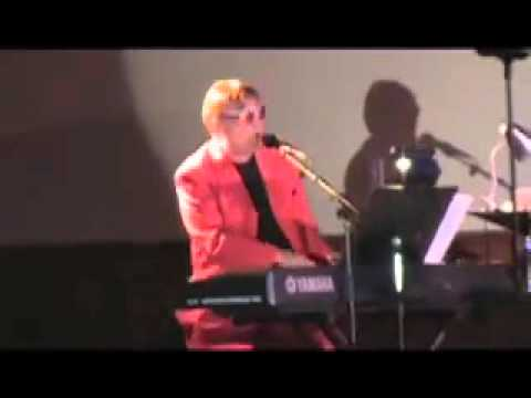 Brian Harris Performing Bennie and the Jets as Sir Elton John
