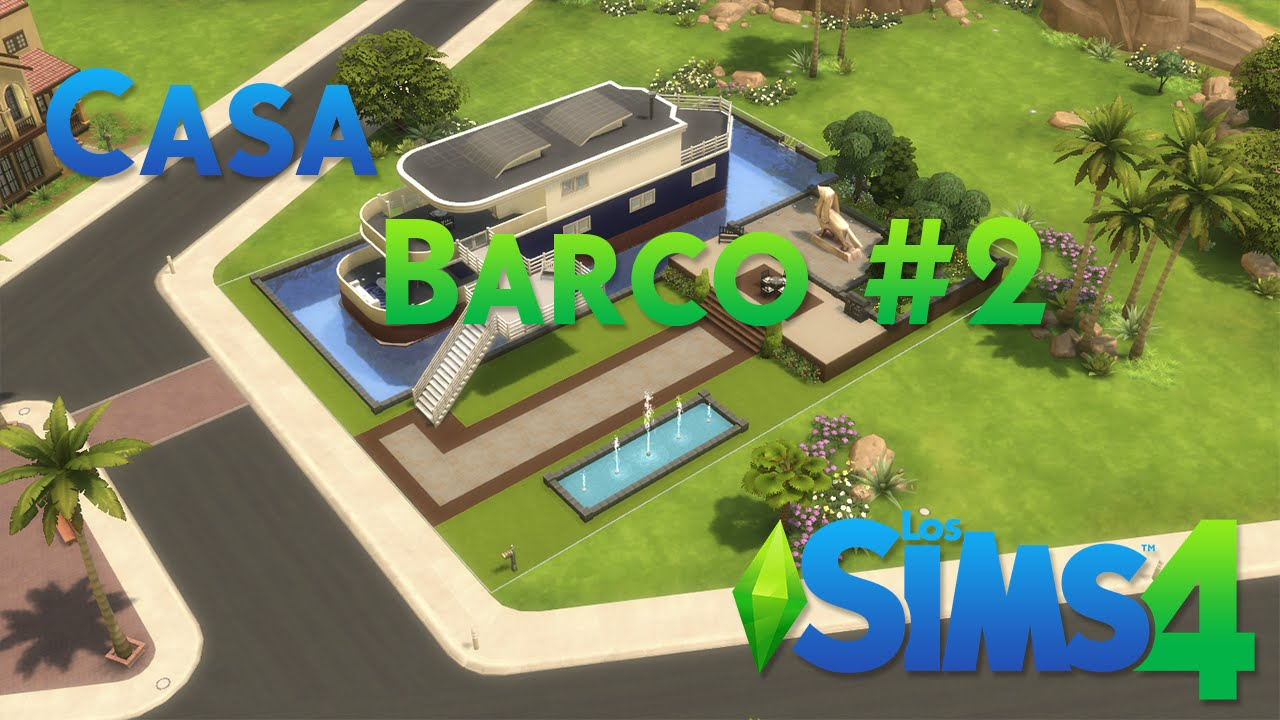 Los sims 4 casa barco 2 youtube for Sims 4 piani di casa