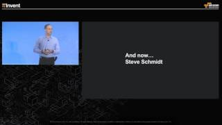 AWS re:Invent 2015 | Chief Information Security Officer at AWS, Steve Schmidt