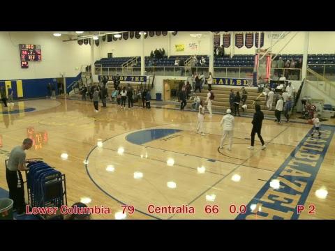 Centralia College Men's Basketball  1-13-2018