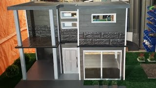 How to make a Doll House #2 - Modern