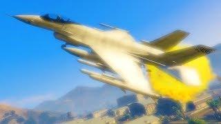 So kann man eine Jet Explosion in GTA Online überleben!