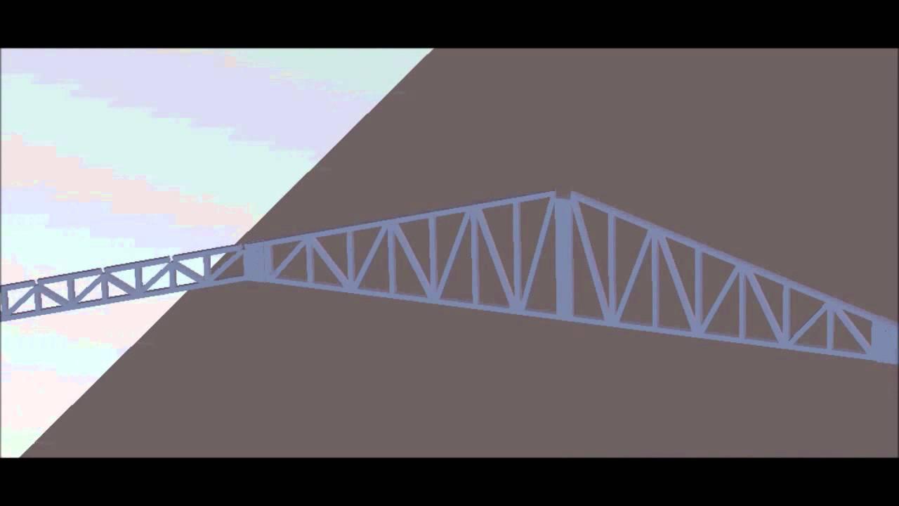 Modelado hangar 2 estructura metalica youtube for Como hacer una estructura metalica para techo