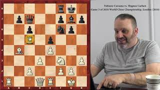 Exciting Positions from the 2018 World Chess Championship, with GM Ben Finegold