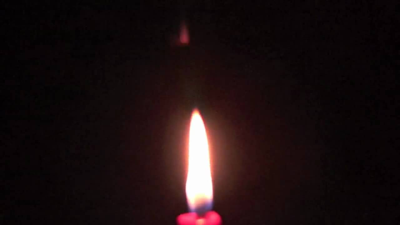 Flickering Candle Flame Hd Youtube