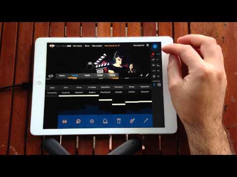 Créer un bande son avec Music Maker Jam - iOS, Android, W8
