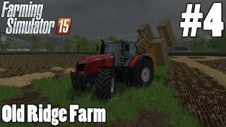 Lets Play Farming Simulator 15 - Old Ridge Farm Episode 4 - New Toys!