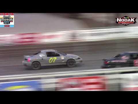 Nodak Speedway IMCA Sport Compact A-Main (Motor Magic Night #1) (9/1/18)
