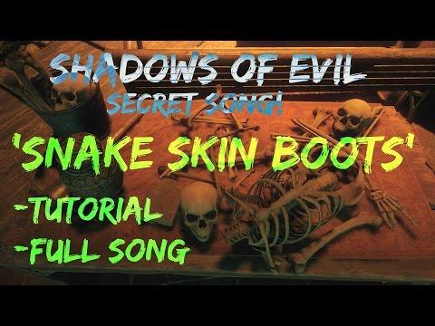 Black Ops 3 Zombies - Secret Song 'Snake Skin Boots' | Tutorial | Full Song | Mini Easter Egg