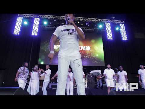 Charles Jenkins LIVE AT Praise in the Park 2017!!!