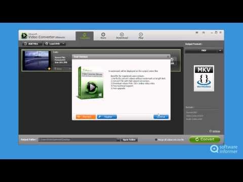 iSkysoft Video Converter Ultimate demonstration
