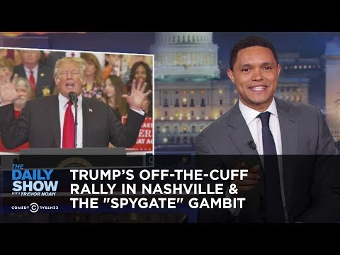 Trump's Off-The-Cuff Rally In Nashville & The