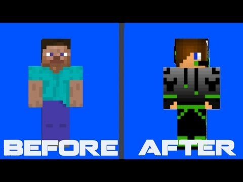 how to change your skin on mineshafter 1.8