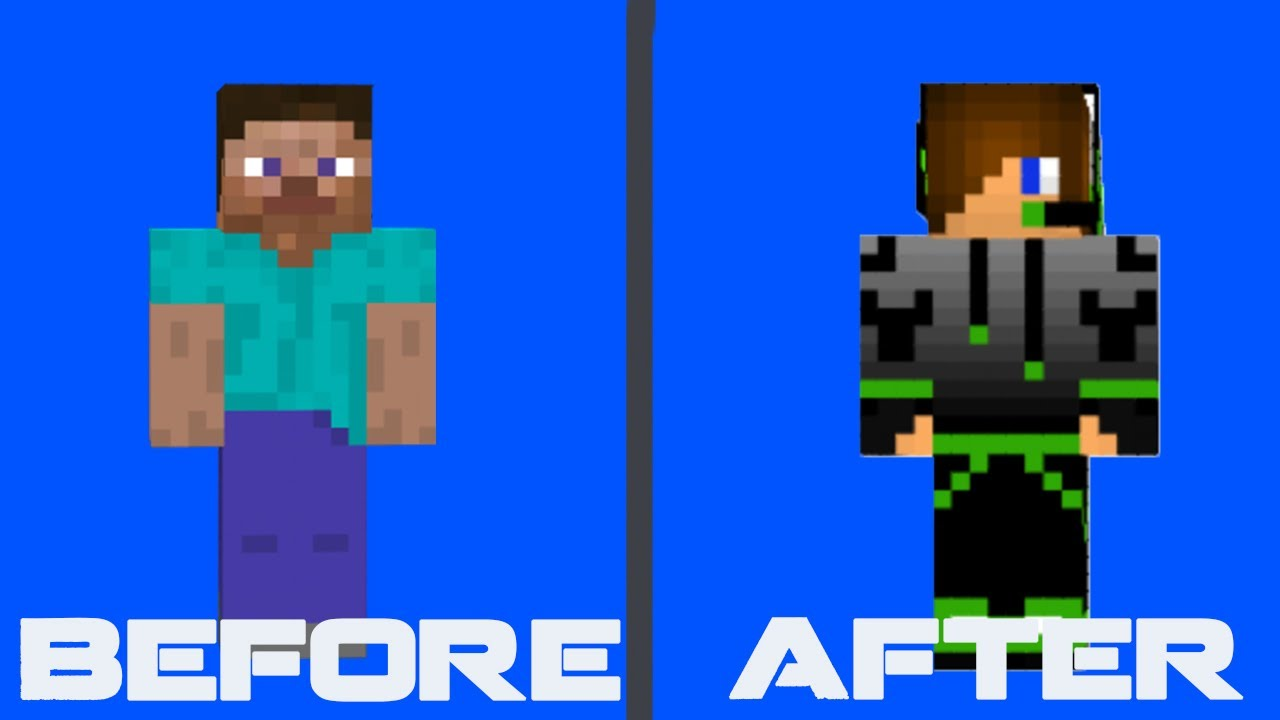 How to: Add Minecraft Skin for Mineshafter 8 - YouTube