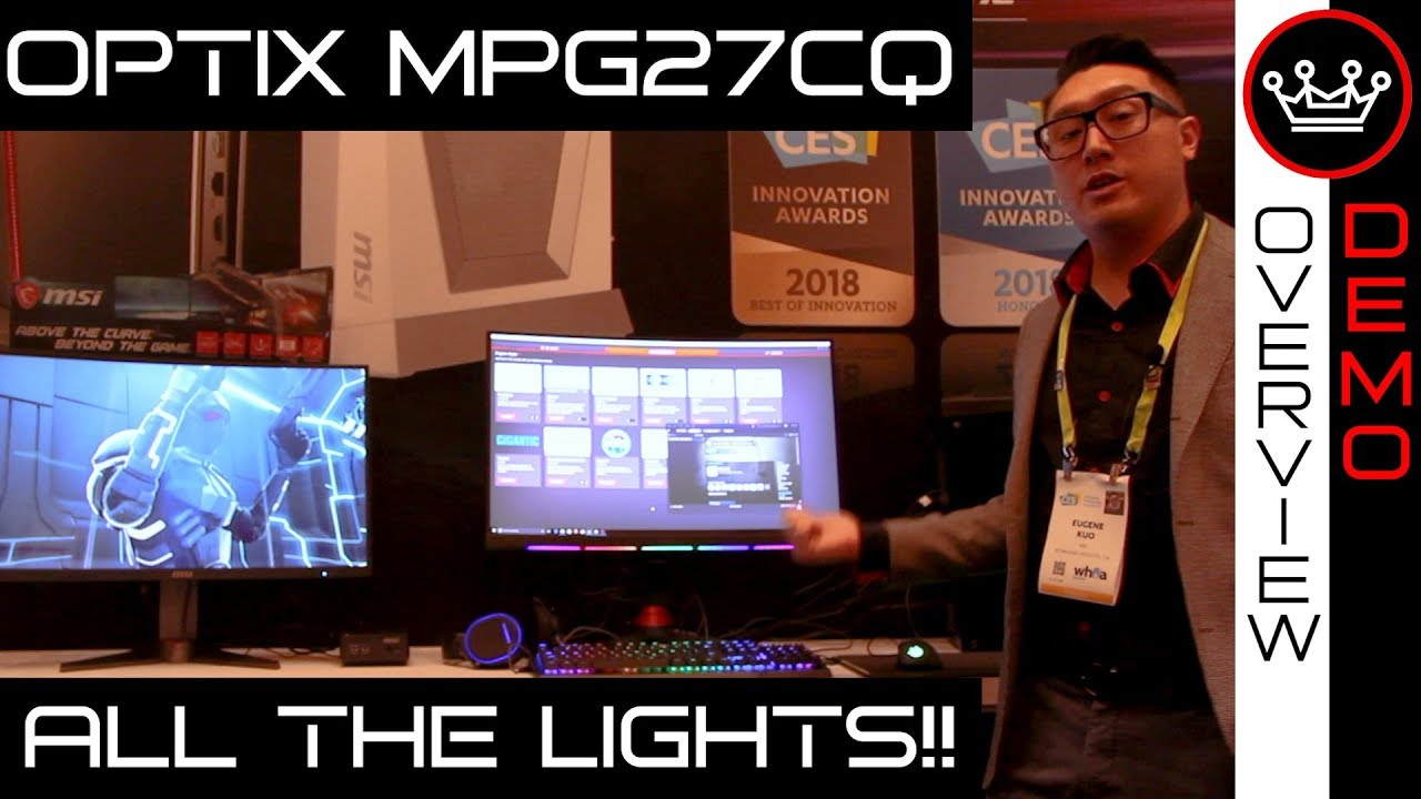 Msi Optix Mpg27cq Epic 144hz Curved Rgb Gaming Monitor Demo Asus Mg279q 27ampquot 2k Wqhd 2560 X 1440 Ips Up To Freesync Overview