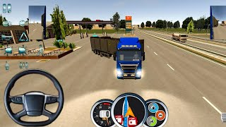 New Truck Game 2021   Euro Truck Driver #8 - Truck Games 3D Android Gameplay FHD screenshot 1