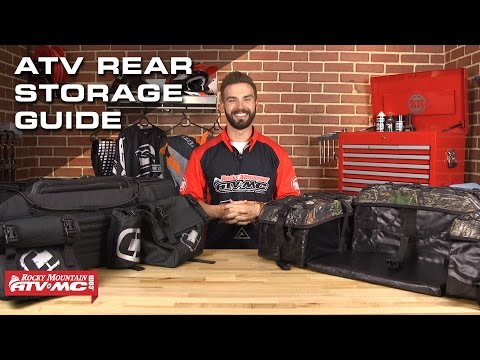 Atv Rear Storage Guide Rocky Mountain Atv Mc Youtube