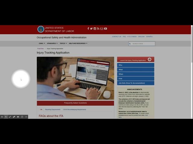 OSHA 300A Electronic Reporting