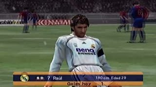 PES 6 Real Madrid Vs. FC Barcelona I PS2 Gameplay ESPAÑOL