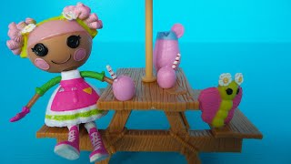 unboxing mini lalaloopsy sweet house