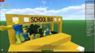 (OLD) ROBLOX Shorts #3 The Noob Bus Express