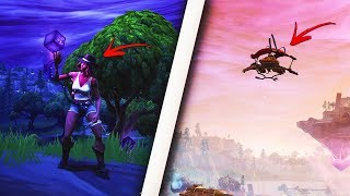 How to become INVISIBLE using this insane glitch! Become invincible! (Fortnite Glitch)