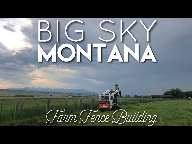 Installing Farming Fencing with MONTANA POST DRIVER @ BARN SHARKS