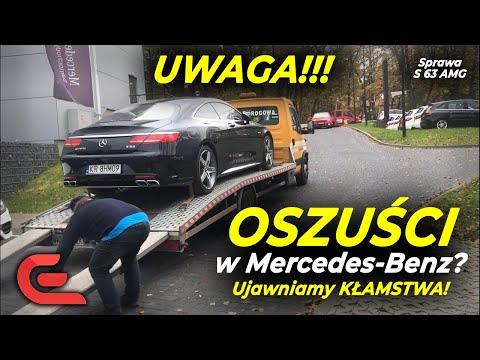 Mercedes-Benz KŁAMIE DO KOŃCA!? Sprzedali WADLIWE S 63 AMG za 1000000 zł