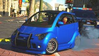 Smart Car Robbery! (GTA 5 Roleplay)