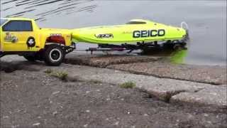Rc Traxxas Launch speed boat 2