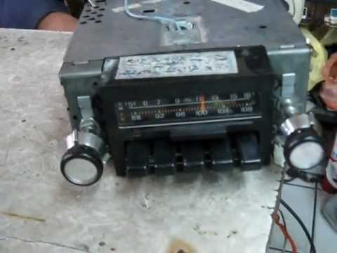 radio para ford mustang 1971 1972 1973 am fm youtube rh youtube com