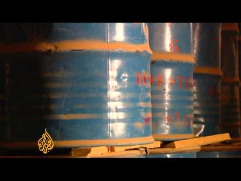 Radio active material discovered in Libya
