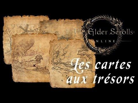 [Elder Scrolls Online] Les Cartes aux Trésors