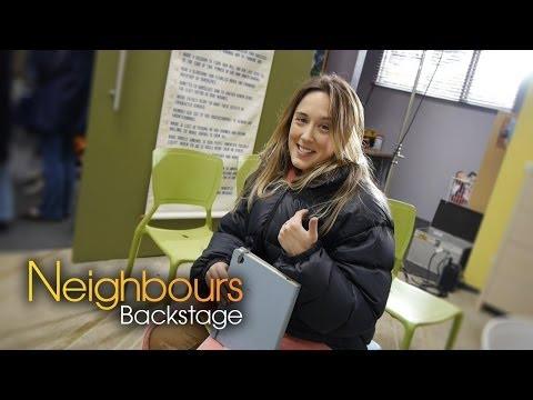 Eve Morey (Sonya) - Neighbours Backstage