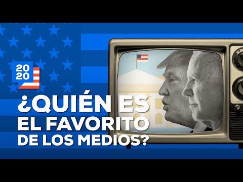 ¿Los medios de comunicación tienen un favorito?