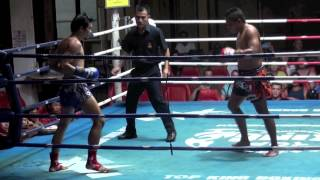 Head Kick KO: Ngoo (Tiger Muay Thai) vs Vasanchai (Patong Boxing Gym) 26/9/2013