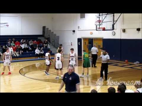 Harrison Hall, Parrott Academy vs Harrells christian academy Highlights.