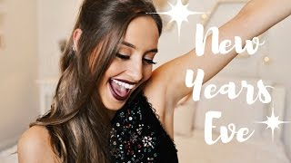 NEW YEARS EVE MAKEUP | Get Ready With Me