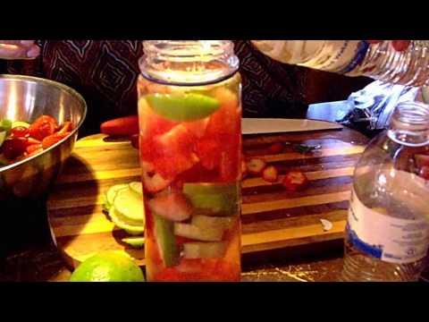 infusion de frutas naturales