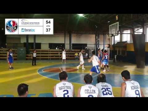 Concentrix come from behind against Focus Inc., win 70-57 (Video is only from 2nd to 4th Quarter)