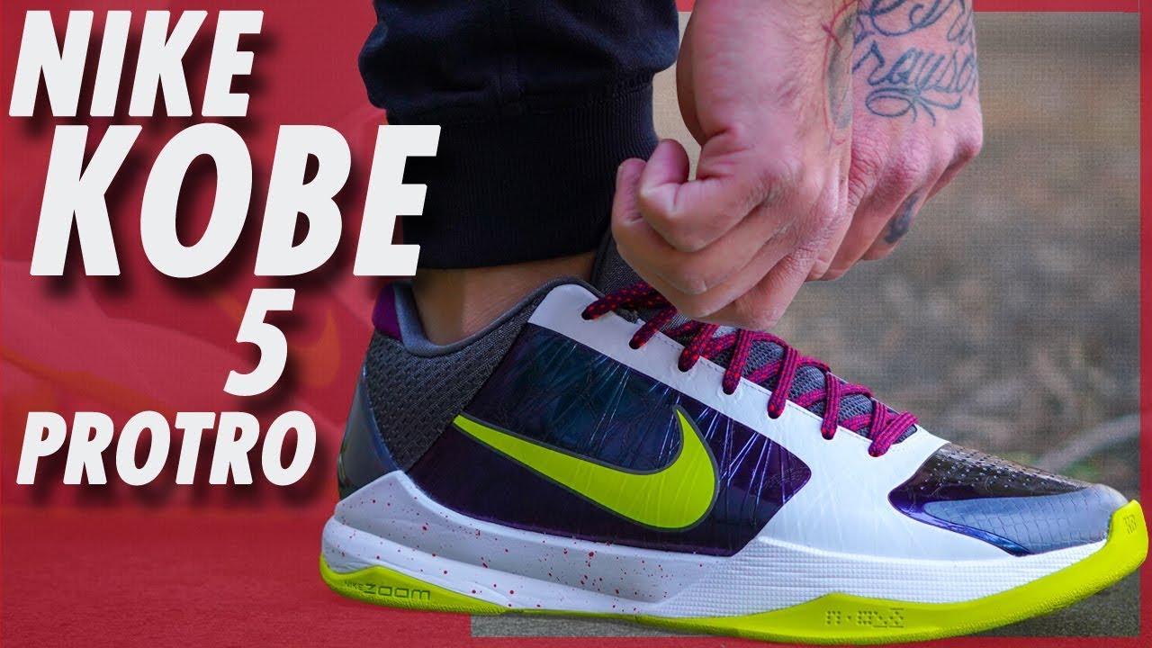 Nike Kobe 5 Protro 'Chaos' - YouTube