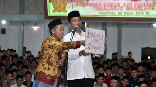 Pesan Santri ke Presiden Jokowi: Jangan Lupa Bahagia, Ojo Nesu MP3