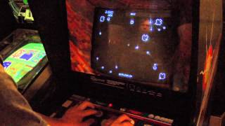 Classic Game Room - ASTEROIDS arcade game review