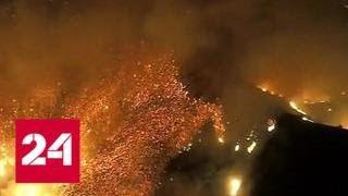 """Самый смертоносный в истории: """"Кэмпфайр"""" продолжает бушевать в США - Россия 24"""