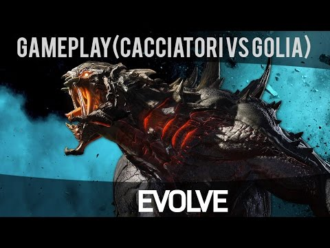 Evolve - Modalità Rescue (Cacciatori vs Goliath) - Gameplay ITA HD